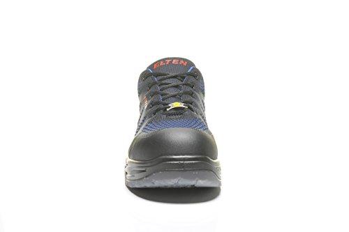 Elten Logan S1 Sicherheitsschuhe mit perfekter Dämpfung, Farbe:blau;Schuhgröße:42 (UK 8)