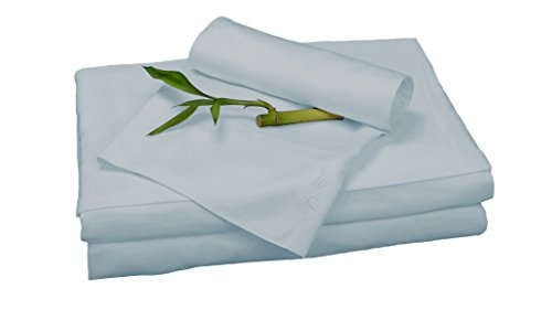 BedVoyage Bamboo Rayon Sheet Set - Queen - Sky ()