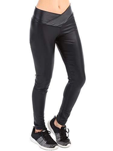 Legging Gloss Preta Com Proteção Solar Extreme Uv Fpu50+