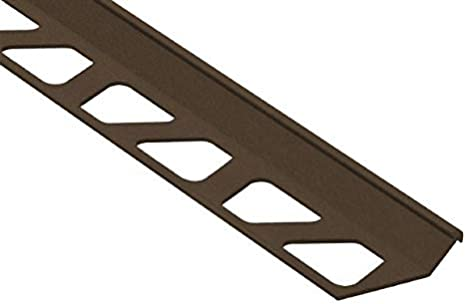 Schluter FINEC Finishing and Edge Protection Profile 11//32, Matte Black MGS