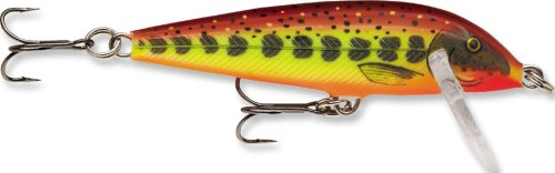 Rapala Countdown 1/8 Oz Fishing lure (Hot Mustard Muddler, Size- 1.5)