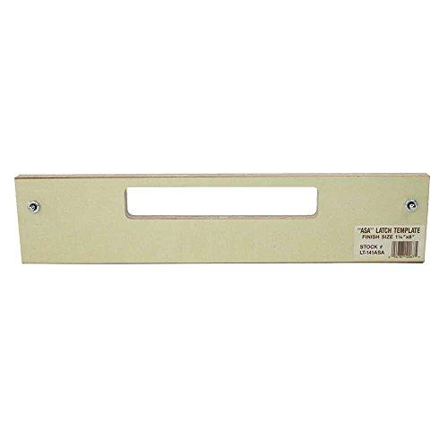 Templaco LT-141ASA - Latch Template (Latch Template)