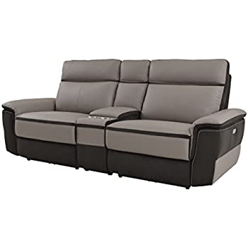 Miraculous Amazon Com Talbot Double Reclining Loveseat In Black Inzonedesignstudio Interior Chair Design Inzonedesignstudiocom