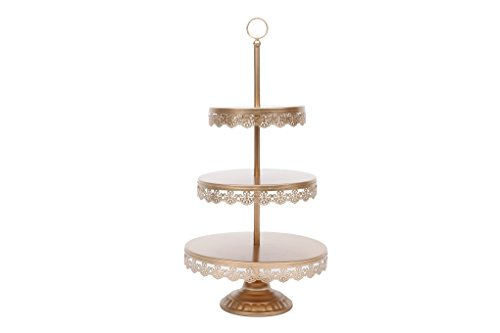 Lilac Beauty 3 Tier Wedding Cupcake Stand Dessert Fruit Food Stand Tower Crystal Showcase