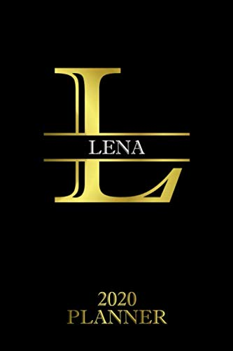 Lena: 2020 Planner - Personalised Name Organizer - Plan Days Set Goals & Get Stuff Done (6x9 175 Pages) (Creative Planners For Gift Band 228)