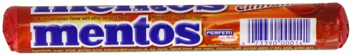Mentos Cinnamon Candy, 1.32-Ounce Rolls (Pack of 30)