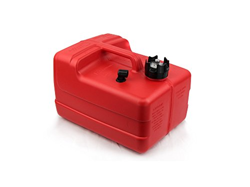 Five Oceans 3 Gallon Fuel Tank/Portable low-permeation with Gauge – BC 4129