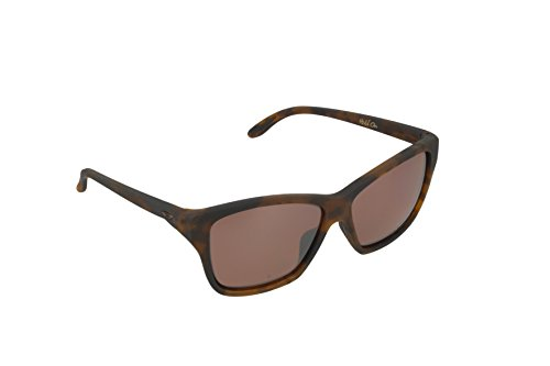 Oakley Women's Hold On OO9298-07 Polarized Iridium Cateye Sunglasses, Tortoise, 58 mm by Oakley