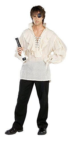 (Rubie's Costume Pirates of the Seven Seas Natural Linen Pirate Shirt - Adult Standard)