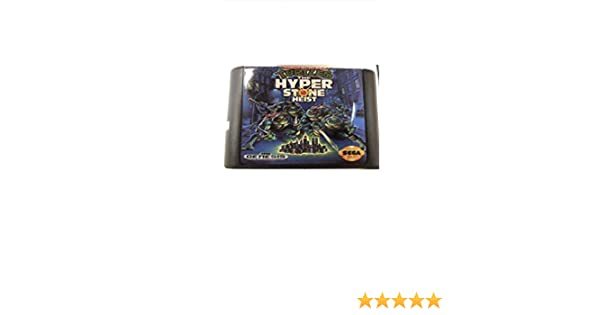 Value★Smart★Toys - Turtles The Hyperstone Heist 16 bit MD Game Card for Sega Mega Drive for Genesis