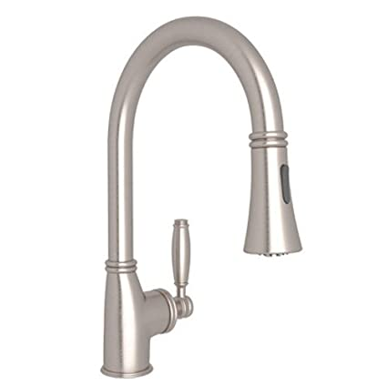 Rohl Mb7927lmstn 2 Gotham Single Lever Handle Satin Nickel