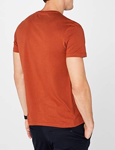 Scott Lyleamp; Z NeckT Marronebrown shirt Uomo Spice Crew vNnyOm80w