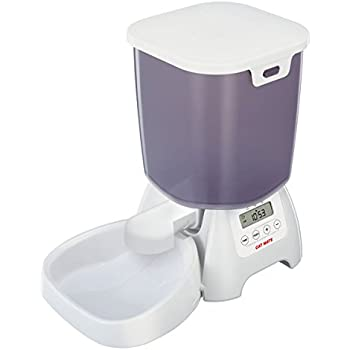 Amazon Com Cat Mate C3000 Automatic Dry Food Pet Feeder