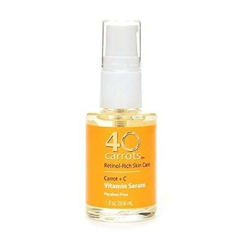 40 Carrots Carrot + C Vitamin Serum 1 Fl Oz /29.6 Ml ( by 40 Carrots