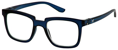 Bunny Eyez Bunny Wearable, Tilt-able, Flip-able Women's Reading Glasses (Midnight Blue, 1.50)