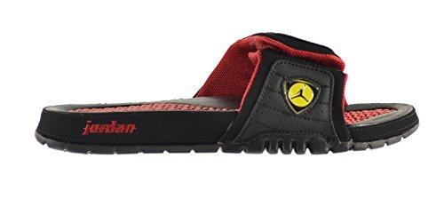 8a683ee98008 Jordan Hydro XIV Retro Men s Slides Black Varsity Red-Vibrant Yellow-Black  654285-015