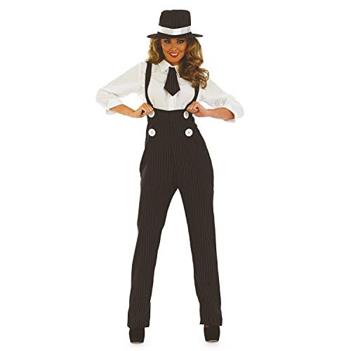 fun shack Womens 20s Gangster Costume Mobster