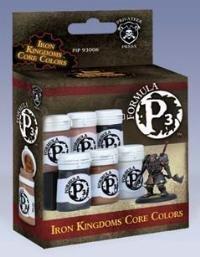 Privateer Press Formula P3 Paint - Iron Kingdoms Colors