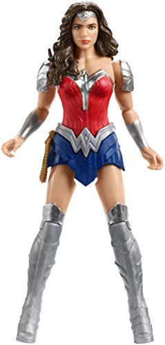 - DC Justice League Wonder Wonder Armor Action Figure, 12