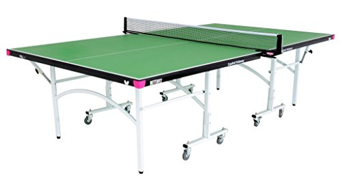 Butterfly Easifold 19 Rollaway Table Tennis Table, Green For Sale