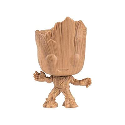 Funko Pop! One of a Kind Groot Wood Deco! – Marvel Guardians of The Galaxy - Vinyl Figure - Bundle - Funko Vinyl Collectible Protector Box: Toys & Games