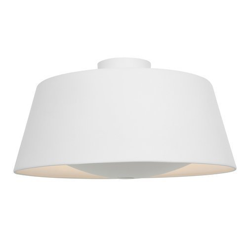 Access Lighting 23764-RIC SoHo Three Light Flush Mount, Rice Finish by Access (Soho Lighting)