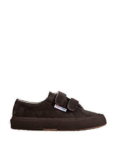 Superga 2750-SUEVJ S0038L0 - Zapatos bajos de cuero para Full Dk Chocolate