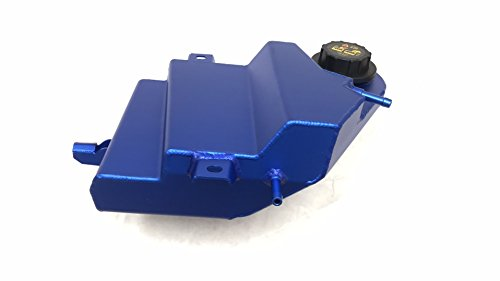 Blue Aluminum Coolant Overflow Degas Bottle Reservoir for 2003-2007 Ford Powerstroke 6.0 Diesel 6.0L by GPP