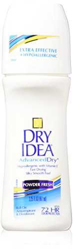 Dry Idea Antiperspirant Deodorant, Powder Fresh, 3.25 Oun...