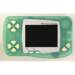 WonderSwan Skeleton Frozen Mint Handheld Console Limited ~ B&W/Monochrome Display (Japanese Import Video Game System)