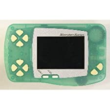 WonderSwan Skeleton Frozen Mint Handheld Console Limited ~ B&W/Monochrome Display (Japanese Import Video Game System)