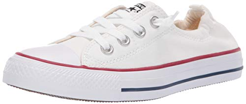r All Star Shoreline White Lace-Up Sneaker - 8.5 B(M) US Women / 6.5 D(M) US Men ()