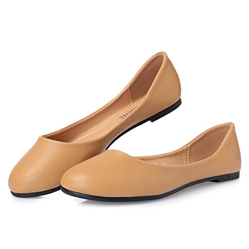 slip casual non Fashion colorful shoes soft shoes FLYRCX comfortable work shoes ladies shallow A flat office bottom mouth g8AvqwP