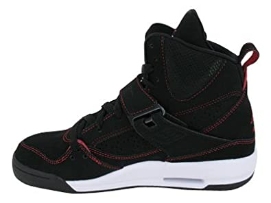 Amazon.com | Nike Air Jordan Flight 45 High (GS) Boys Basketball Shoes  524865-001 Black 4 M US | Basketball