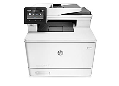 HP LaserJet Pro M477fnw Wireless All-in-One Color Printer (CF377A#BGJ) by Hewlett Packard Inkjet Printers