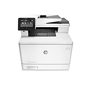 HP LaserJet Pro M477fdn All-in-One Color Laser Printer