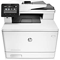HP LaserJet Pro M477fdw Multifunction Wireless Color Laser Printer with Duplex Printing (CF379A)