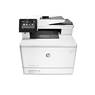 HP LaserJet Pro All-in-One Color Printer, M477FDW - (CF379A) model