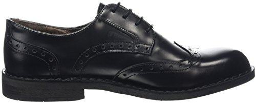 Fly London Idal903fly, Scarpe Stringate Basse Brogue Uomo Nero (Black 000)