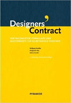 Designers Contract Vertragsmuster Formulare Und Musterbriefe Für