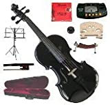"Merano 13"" Black Viola with Case and Bow+Extra Set"