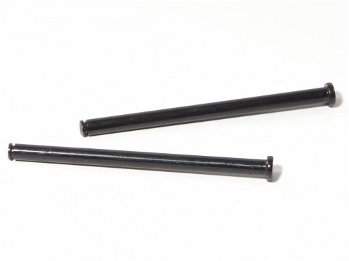Flange Shaft 4X62mm (Black/2pcs) Savage -