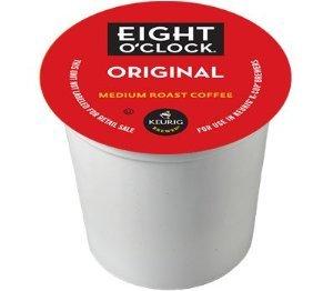 Coffee Hazelnut Millstone (Eight O'Clock Coffee Original Blend K-Cups - 144 Count Box)