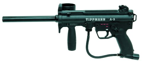 Tippmann A-5 .68 Caliber Paintball Marker with E-Grip by Tippmann