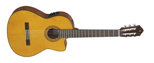 Yamaha CGX122MCC Classical Acoustic-Electric Guitar, Solid Cedar Top