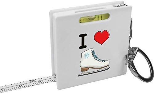 I Love Ice Skating Sleutelring MeetlintWaterpas Tool KM00000600