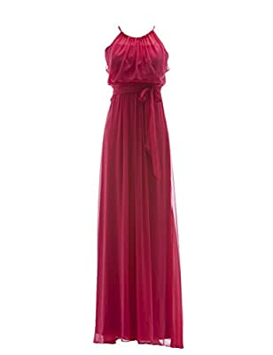 Tidetell 2015 Intricate Long Chiffon Prom Party Bridesmaid Dresses
