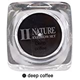 Biomaser PCD Tattoo Ink 15ml Deep Coffee Eyebrow Tattoo Pigment Square Bottles Pigment Professional Permanent Makeup Ink Supply For Eyebrow Lip Make up Microblading Pigment