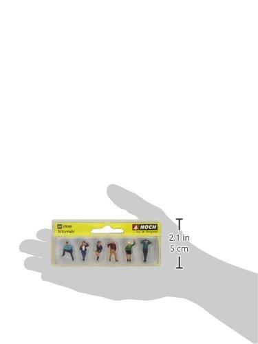 Figurine Noch Mod/élisme Ferroviaire 15540 6 Gens Assis Sans Banc