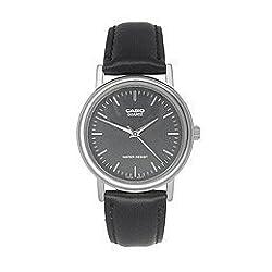 Casio Men's Leather watch #MTP1095E1A
